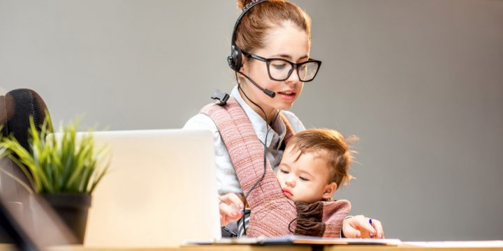 How To Increase Work From Home Efficiency When You Have Kids