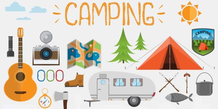 Camping Equipment Organization and Storage