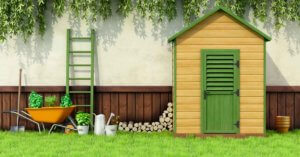 garden shed organization tips