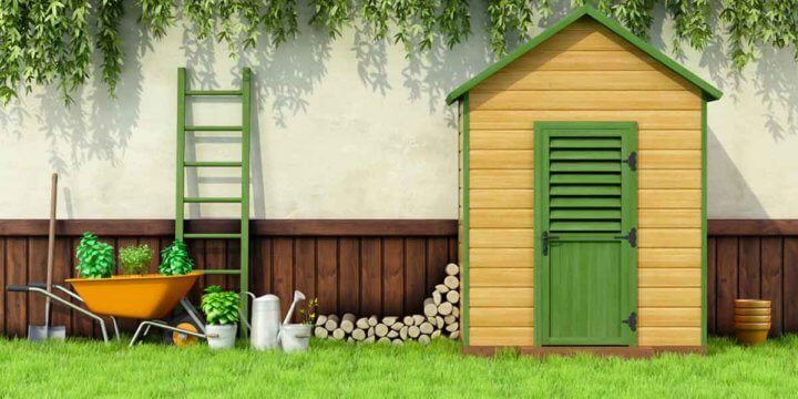 5 Garden Shed Organizing Tips and 7 Things to Never Store in a Shed