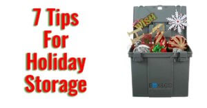 tips for holiday storage